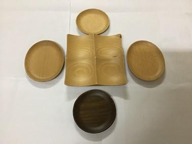 dĩa gỗ